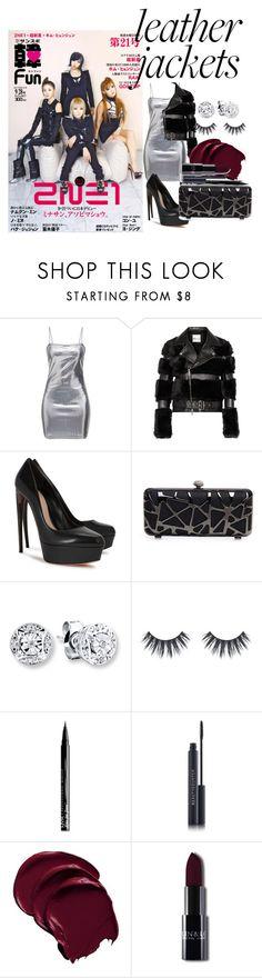 """Boss Ladies"" by roseyfox ❤ liked on Polyvore featuring Noir Kei Ninomiya, Alexander McQueen, J. Furmani, NYX, Leather and 2NE1"