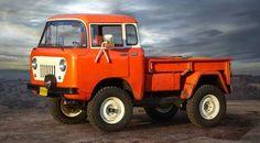"""Reborn cute Jeep """"FC 150"""""""