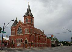 St. Joseph's Roman Catholic Church of Denver in Northeast Denver, Colorado