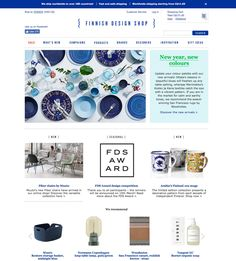 Finnish Design Shop | This shop has it all! It is the largest online retailer of Finnish design products in the world. It stocks over 120 brands  including Iittala, Arabia, Artek, and Marimekko, among others, as well as products from numerous other Scandinavian companies. I often browse their website just for inspiration, pinning on my wish list many beautiful home accessories and furniture from their assortment. And now that they ship around the world, there is no reason not too bookmark…