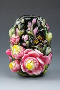 Мировой лэмпворк: Dolly Ahles - Ярмарка Мастеров - ручная работа, handmade #lampwork