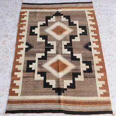 Vintage Navajo Chinle Wool Rug 26017 | Alltribes