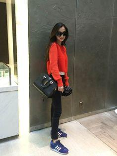 angelababy|SAINT LAURENT PARISのShoulder bagを使ったコーディネート - WEAR