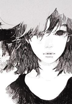 Kai Fine Art is an art website, shows painting and illustration works all over the world. Manga Girl, Manga Anime, Anime Art, Anime Girls, Character Inspiration, Character Art, Character Design, Illustration Sketches, Illustrations