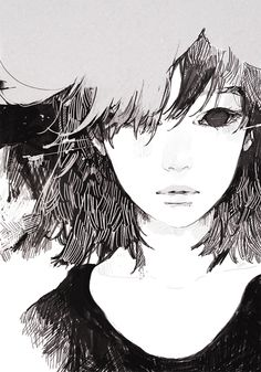 A young Misako -Gin's drawing
