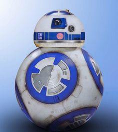 by Patrick Lawrence! Rey Star Wars, Star Wars Art, Star Wars Stickers, Star Wars Droids, Bb8, Star Wars Pictures, Star Wars Episodes, Trek, Sci Fi
