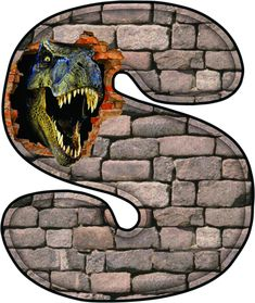 Dinosaur Alphabet, Dinosaur Cake, Dinosaur Birthday Party, Animal Alphabet, Baby Birthday, Jurassic World, Jurassic Park, Festa Pokemon Go, Mother Daughter Art