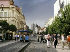 This is beautiful Košice, the second biggest city in Slovakia.