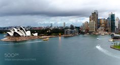 Sydney cityscape at dusk by ahmed_rnt - my life will forever rot away. must leave my mark.