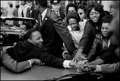 In honor of Martin Luther King, Jr. Day, we share Leonard Freed's photo of King greeting a crowd in Baltimore upon returning to the United States after winning the Nobel Peace Prize in [Leonard. Martin Luther King, Magnum Photos, Memphis, Leonard Freed, Georgia, Atlanta, Dr Martins, Nobel Peace Prize, Photographer Portfolio