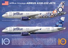 jetblue | new airliner print airline jetblue airways 2 jetblue a320 jets