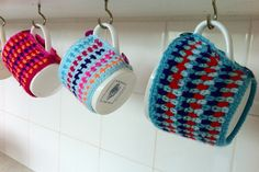Mrs Thomasina Tittlemouse: Moss-Stitch Crochet and Motley Mugs