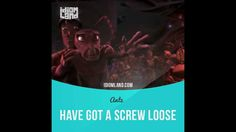 """""""Have a screw loose"""" means """"to be silly or eccentric"""".  Text in the clip from """"Antz"""": - You've had enough for one night. Come on. Before you get in trouble. - Head for the monolith. Listen to me! The monolith! - That guy's got a screw loose. - Across the lake! - Insectopia. Hmm. It'd be great if it were that easy.  #idiom #idioms #slang #saying #sayings #phrase #phrases #english #englishlanguage #learnenglish #studyenglish #language #vocabulary #efl #esl #tesl #tefl #toefl #ielts #toeic…"""