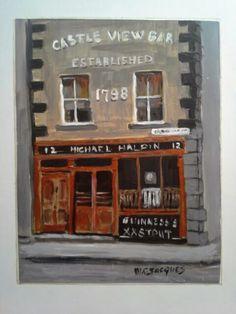 Old Pubfront, Limerick by M C Jacques