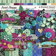 Sweet Shoppe Designs :: Value Bundles :: A Frozen Heart: COLLECTION by Studio Flergs
