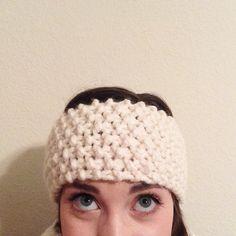 Berryfrost Headband by ChandlerKnits on Etsy