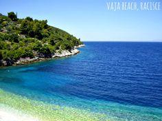 Beaches on Korcula Island - Vaja Beach, Racisce #korcula #explorekorcula #korculabeaches