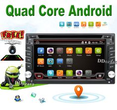 Universal 2 din Android 6.0 Car DVD player GPS+Wifi+Bluetooth+Radio+1GB CPU+DDR3+Capacitive Touch Screen+3G+car pc+aduio #Affiliate