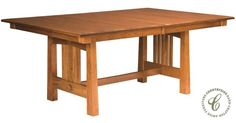 Clear Lake Butterfly Leaf Dining Table - Countryside Amish Furniture