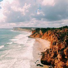 Can't get enough #portugal #south #algarve #aljezur #lagos #lisbon #beach #pacific #ocean #euro #eurotrip #instatravel #view #explore #wanderlust #adventure #traveltheworld #travelblog #triplookers #worlderlust