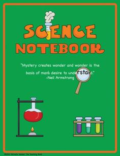 Interactive Science Notebook for Grades 6-8 product from The-Teaching-Bank on TeachersNotebook.com