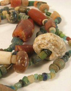 Ancient Mali dig beads. Tradewind beads. African trade beads. Agate carnelian stone beads.
