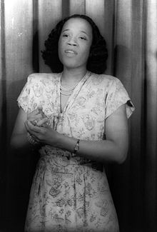 Camilla Williams, the first African American to sign a contract with a major American opera company.