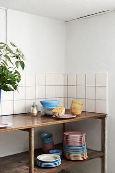Tableware bu HAY (kitchen market) via &klevering