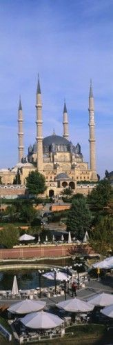 Turkey, Edirne, Selimiye Mosque Poster Print by Panoramic Images (9 x 27)