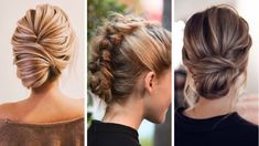 Top 20 Messy and Stylish Updos for Long Hair - Wittyduck Loose Chignon, Messy Chignon, Chignon Hair, Messy Braids, Ponytail Haircut, Hairstyle Look, Fancy Hairstyles, Twist Hairstyles, Hair Buns