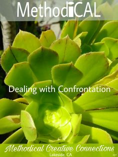 Dealing with Confrontation #Method_iCAL