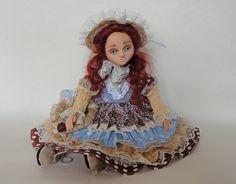Boudoir doll/  Textile doll, Fabric plastic doll. art doll, lovely doll/ Cute doll. Cloth doll. Gift. Interior doll. Beauty doll/ decor Doll by EvaiDolls on Etsy