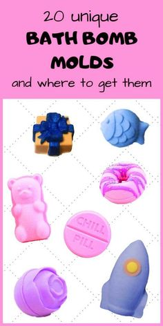 Bath bomb recipe: the best DIY bath bombs to hiss and twist!Bath bomb recipe: the best DIY bath bombs to hiss and twist! Wine Bottle Crafts, Jar Crafts, Bath Boms Diy, Unicorn Bath Bombs, Best Bath Bombs, Molds For Bath Bombs, Bath Bombs Kids, Bath Bomb Molds Diy, Diy Bath Bombs