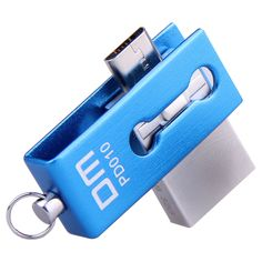 DM PD010 USB Flash Drive, 32GB Metal OTG Pendrive High Speed USB Memory Stick 16GB pen Drive Real Capacity 8GB USB Flash U disk