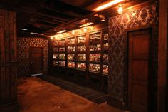 How To Get Into Bourbon And Branch - Main Bar Library Russels Room Ipswitch Wilson