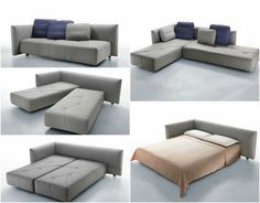 Bellagio 4 Piece Outdoor Sectional Daybed Beach Style