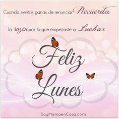 #feliz #lunes  www.soymamaencasa.com