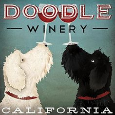 LabraDoodle Winery Ryan Fowler 27x27 Sign Animals Art Print Poster Vintage Advertising Wine Black and White labradoodle Vintage Wild Apple http://www.amazon.com/dp/B00M7F3Z26/ref=cm_sw_r_pi_dp_qVJLub07YGC70