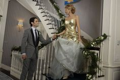 Serena and Dan tie the knot in the Gossip Girl series finale.