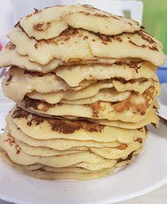 Viki Egyszerű Konyhája: Almás palacsinta Pancakes, Breakfast, Food, Morning Coffee, Essen, Pancake, Meals, Yemek, Eten