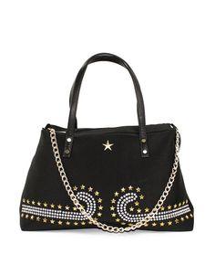 Τσάντα ώμου μεγάλη stars - Μαύρο 39,99 € Shoulder Bag, Handbags, Fashion, Moda, Totes, Fashion Styles, Shoulder Bags, Purse, Hand Bags