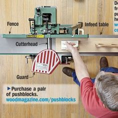 6 Jointer Pointers