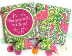 Bachelorette or Birthday Party Flamingo Koozies. Flamingo Wedding Shower. Flamingo Party favors