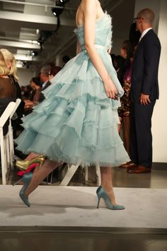 Inspired by: Oscar de la Renta (spring 2013)- I adore Oscar!  Oh to have a place to wear this!