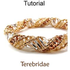 Beading Tutorials and Patterns – Jewelry Making – Russian Spiral Stitch – Beaded Bracelet Necklace – Simple Bead Patterns – Terebridae – Diy Bracelets İdeas. Beaded Bracelet Patterns, Jewelry Patterns, Beading Patterns, Beaded Jewelry, Handmade Jewelry, Beaded Necklace, Beaded Bracelets, Diy Bracelet, Loom Patterns