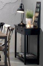 Ellos Home Bodil-sivupöytä Musta, Valkoinen - Kaapit & lipastot | Ellos Mobile