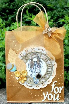 Altered Giftbag (For You) by IleneTell - Cards and Paper Crafts at Splitcoaststampers