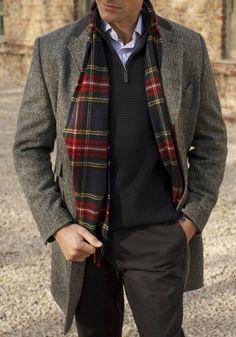 Harris Tweed for Fall/Winter www.designerclothingfans.com