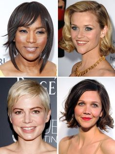 Celebrity Hairstyles: Short Hair Edition -  Get step-by-step instructions from stylists on how to get these star looks...