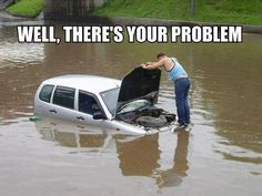 Truck driver humor | There's Your Problem car-humor-funny-joke-road-street-drive-driver ...